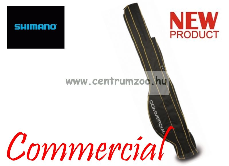 Shimano COMMERCIAL DOUBLE ROD AND POLE HOLDALL 197cm félmerev botzsák (SHCOM02)