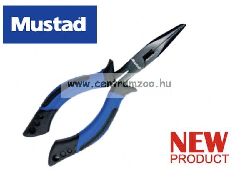 "Mustad 6"" Soft Grip Plier with Rubber Holster horgász fogó (MT009)"