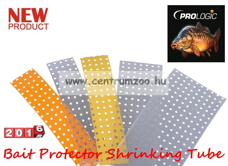 Prologic LM Bait Protector Shrinking Tube 32mm Hi-Vis Yellow 10pcs csalivédő zsugorcső (49975)
