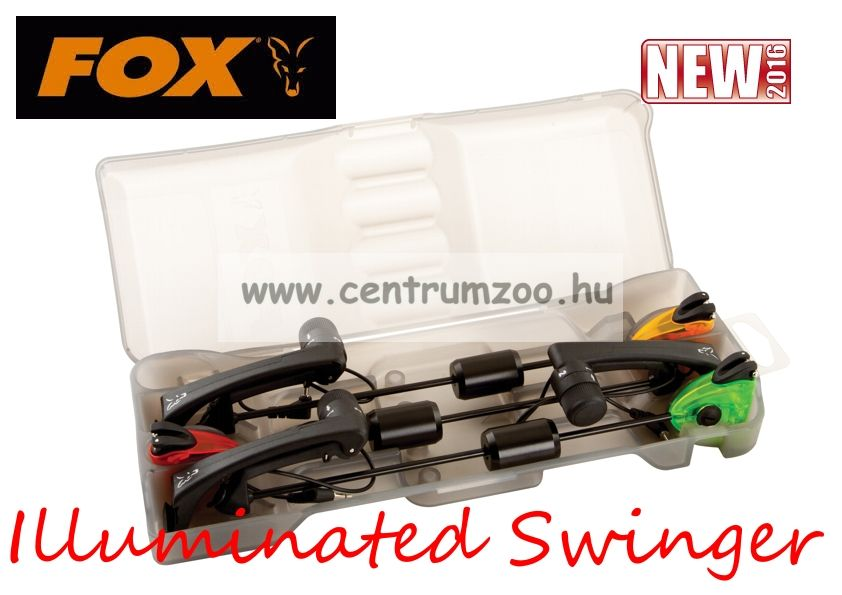 Fox MK2 Illuminated Swinger Set Professional - 3 rod set (CSI054)