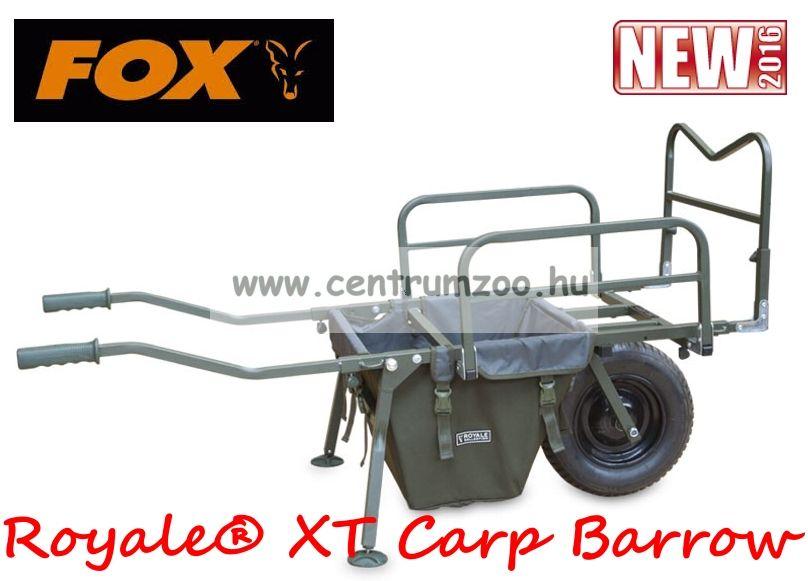 FOX Royale® XT Carp Barrow with barrow Bag bojlis, versenyládás talicska (CTR010)