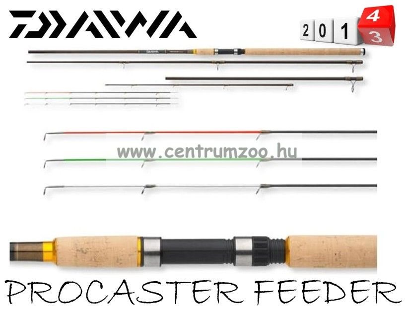 Daiwa Procaster Light feeder 390cm 120g (11773-392)