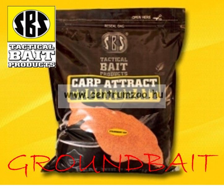 SBS Carp Attract Groundbait ETETŐANYAG 1kg 2014NEW - Strawberry Jam (eperkrém)