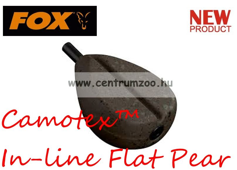Fox Camotex™ In-line Flat Pear 3.5oz 100gram (CLD215)