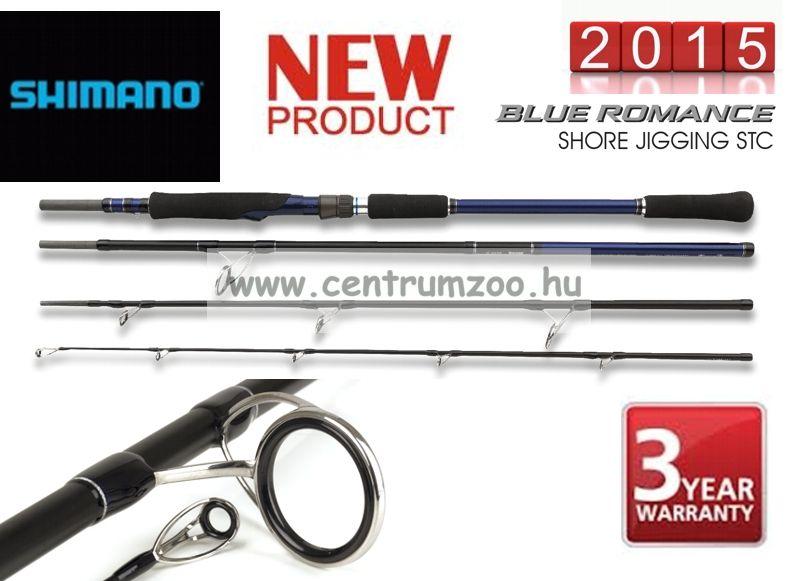 Shimano bot BLUE ROMANCE STC Shore Jigging 9,6 50-80g 289cm (TBRSJ965080) pergető bot