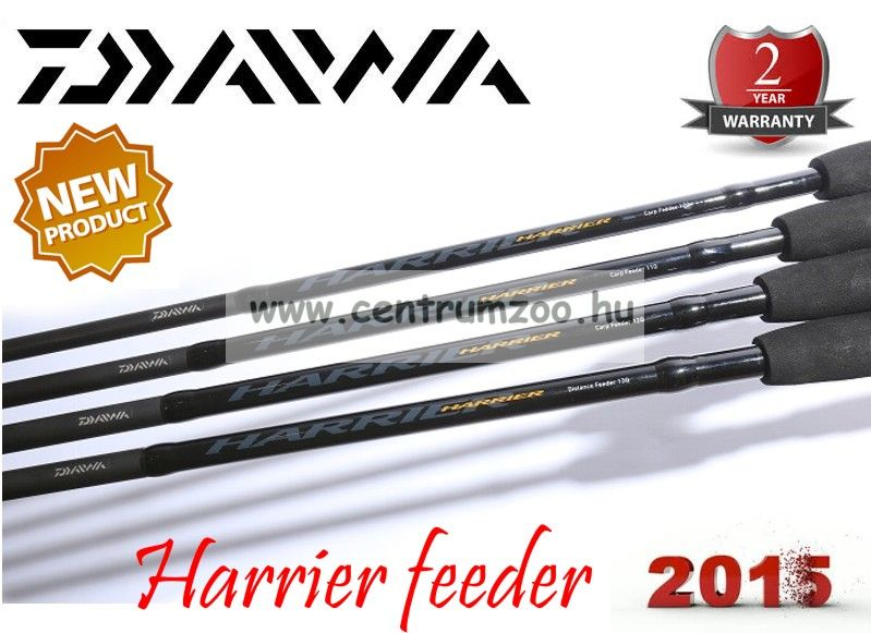 "Daiwa HARRIER  Feeder 13""0' 3pc 3,9m (198899)(HRF13Q)"