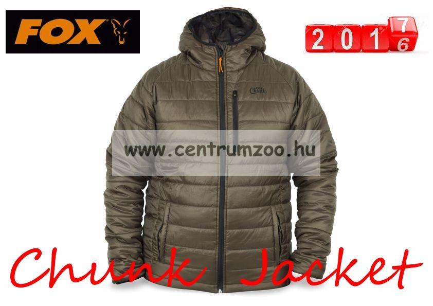 FOX CHUNK™ Puffa Chield Jacket dzseki, horgászkabát - AKCIÓ - (CPR613) XXL
