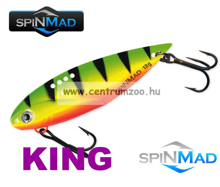 SpinMad Blade Baits gyilkos wobbler  KING 18g K0612