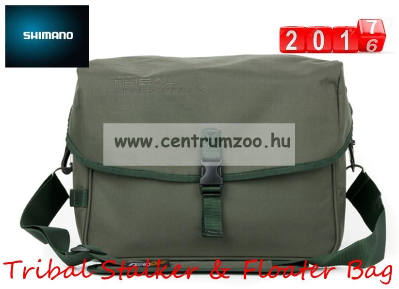 SHIMANO BORSA STALKER & FLOATER thermo etető anyagos és szerelékes táska  37X25X28cm (SHOL04)