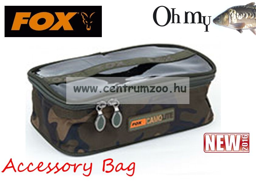 Fox Medium Accessory Camo Bag aprócikkes táska (CLU302)