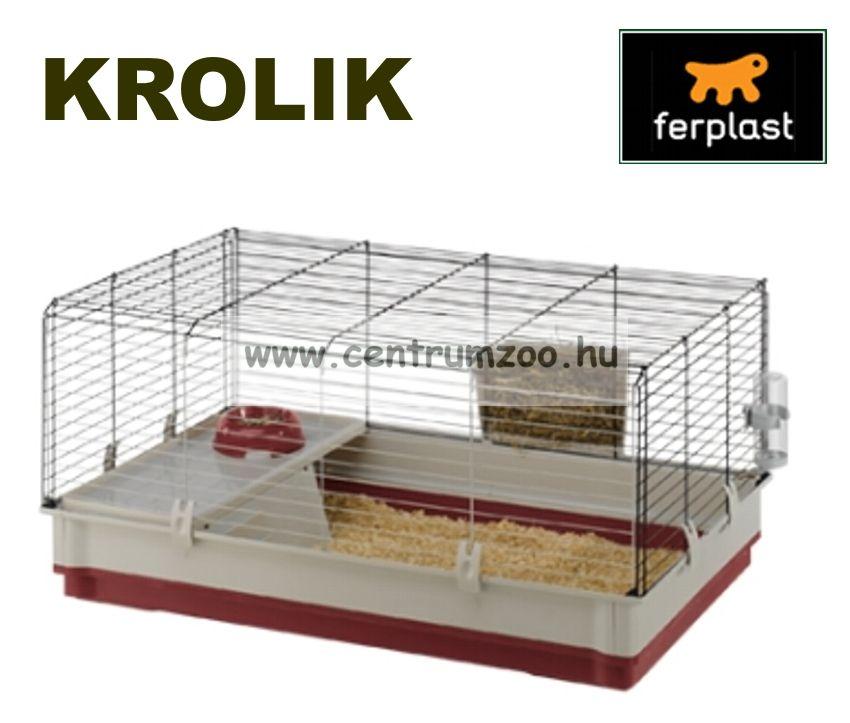 Ferplast Krolik Rabbit Bordeaux 100 Large nyúl, tengerimalac, görény ketrec