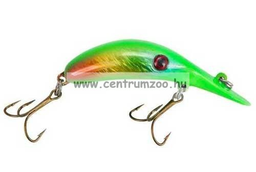 Lindy® RIVER ROCKER 6 cm Lime Disease (LRR322)) wobbler