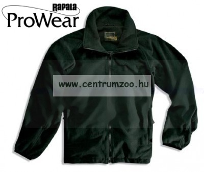 Rapala Pro Wear Fleece Jacket Black S (22102-1)