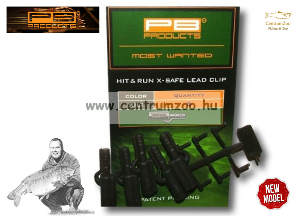 PB Products Hit&Run X-Safe Leadclip