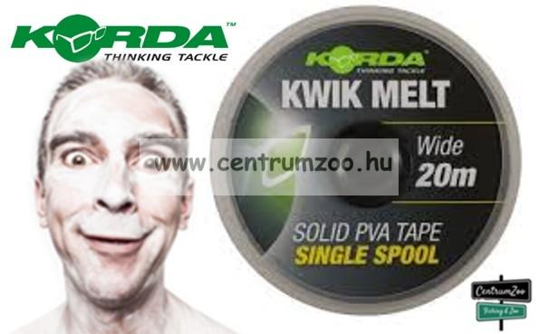 KORDA PVA Kwik-Melt Solid PVA Tape szalag – 20m 10mm  (KEMT)