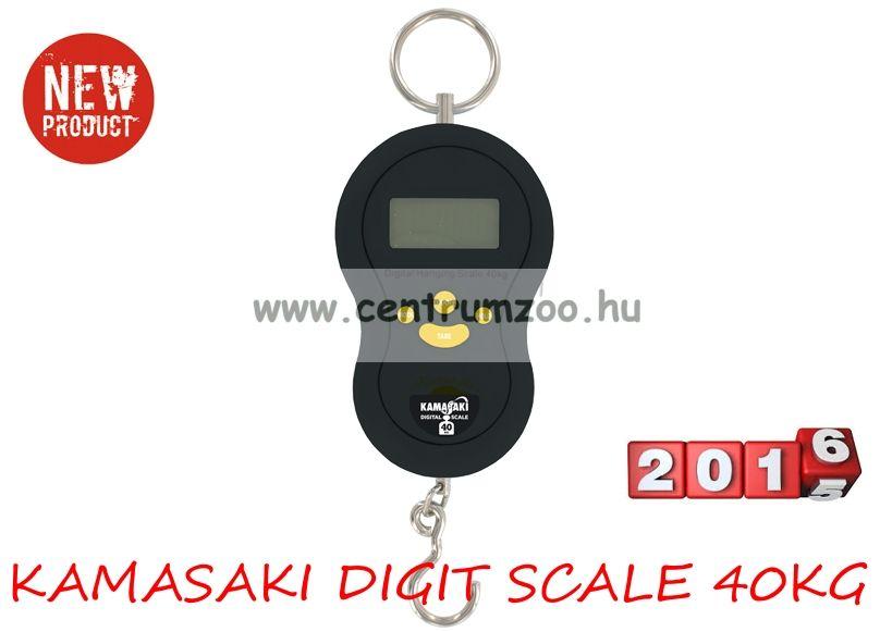 KAMASAKI DIGITÁLIS MÉRLEG max 40kg (80213-141)