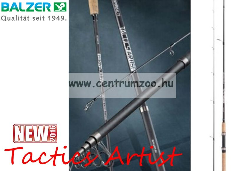 Balzer Tactics Artist IM6 1,95m L 4-16g 2r pergető bot (11370195)