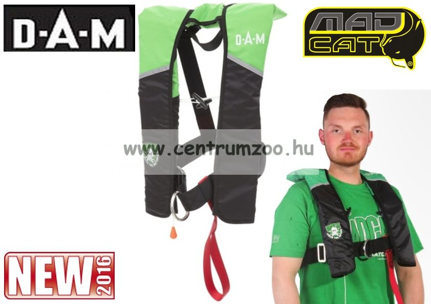 Mad Cat Safety Floatation Vest Survivor CO2 Autamatic CE prémium mentőmellény