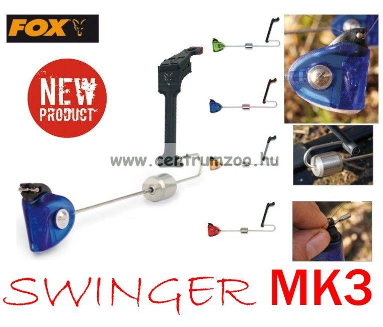 FOX MK3 Premium Swinger Professional - RED (HCFSMK3P) piros színben