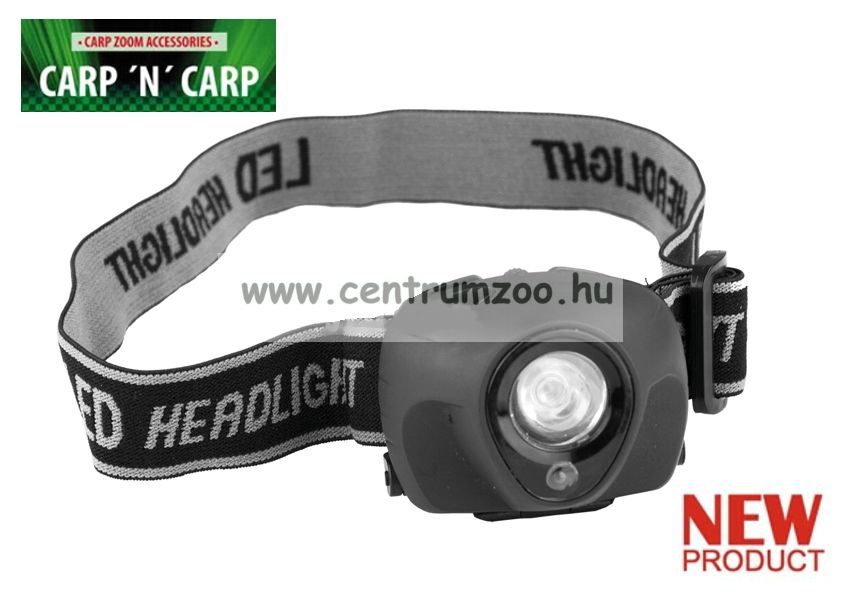 Carp Zoom Night Guide WHITE & RED 1+1 LED fejlámpa (CZ1642)