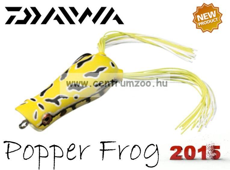 Daiwa D-Frog Popper 6,5cm béka műcsali - yellow toad (15602-208)