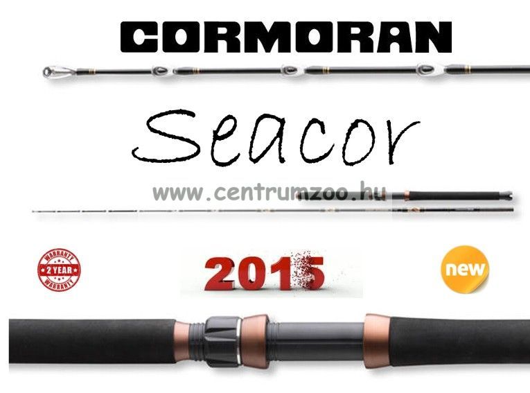 Cormoran Seacor Deep Power  2,15m 100-400g 2r (29-0400210)