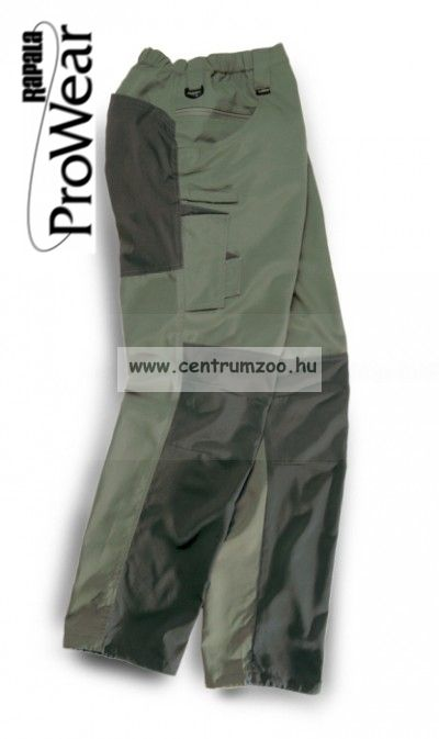 Rapala Pro Wear Cargo Trousers Olive/Anthracit  XXL (22301-2)