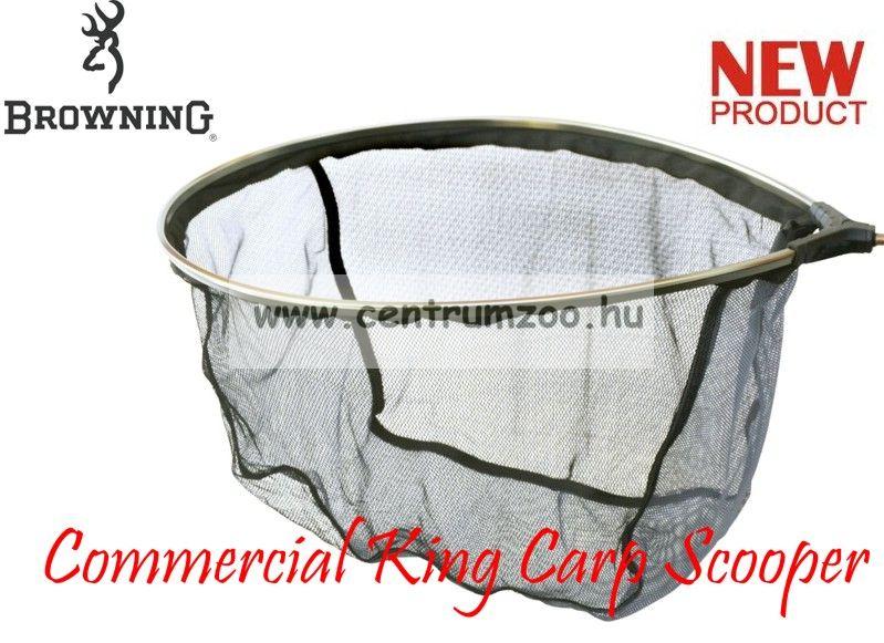 MERÍTŐFEJ  Browning Landing Net Commercial King Carp Scooper 50x40cm (7029046)