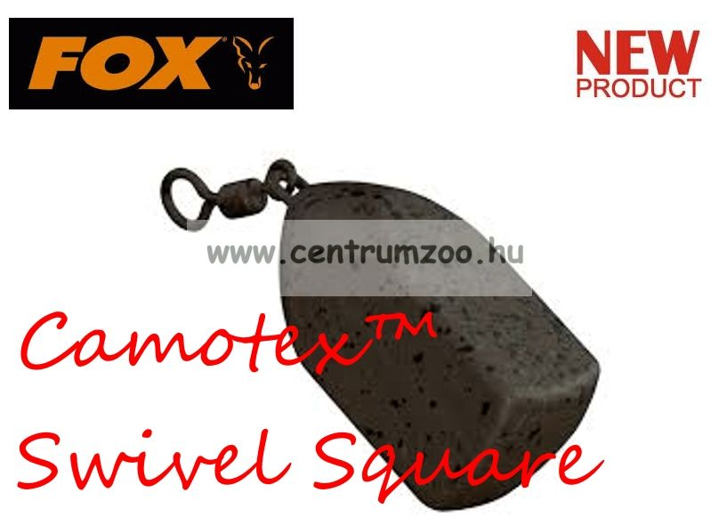 Fox Camotex™ Swivel Square Lead 3.0oz 85gram (CLD219)