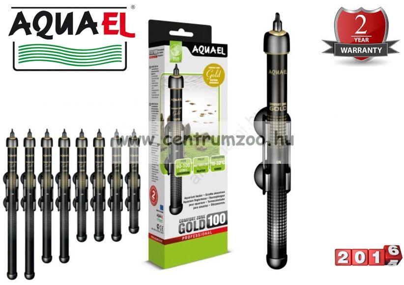 Aquael Gold Heating automata hőfokszabályzós vízmelegítő   75W (111138)