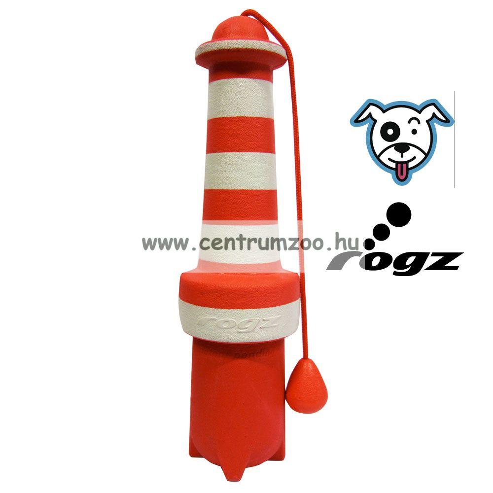 Rogz Floating LightHouse Dog Toy kutya játék apport 22,5cm