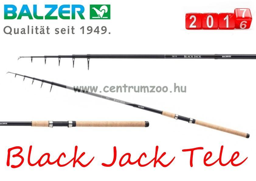 BALZER Black Jack Tele 135 teleszkópos horgászbot 3,30m 135g (11232330)