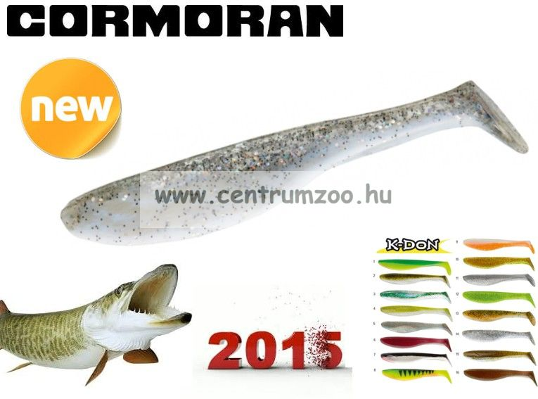 Cormoran K-Don S9 prémium gumihal 13cm ROACH  (51-28314)