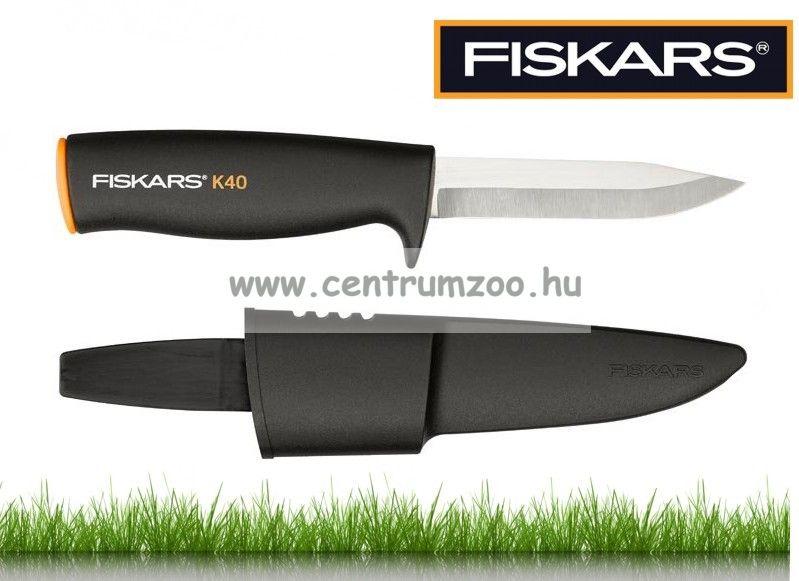 Fiskars kerti és horgászkés tokkal (125860)