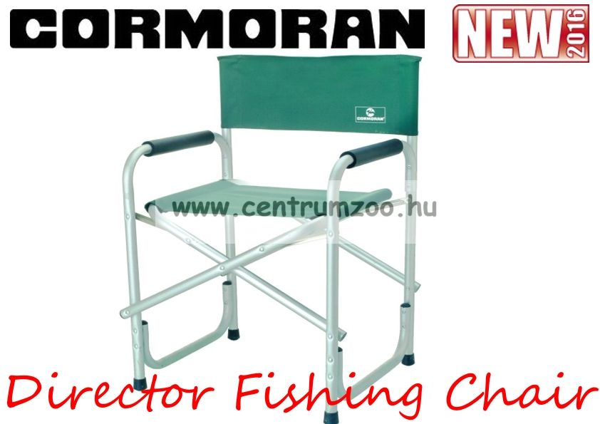 CORMORAN Director Fishing Chair alu vázas erős 110kg (68-90305)