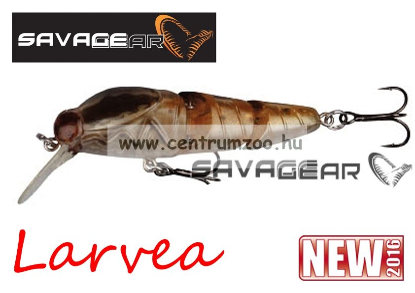 SAVAGE GEAR Larvea 55 5.5cm 5g SS 40 - Nymph (43604)