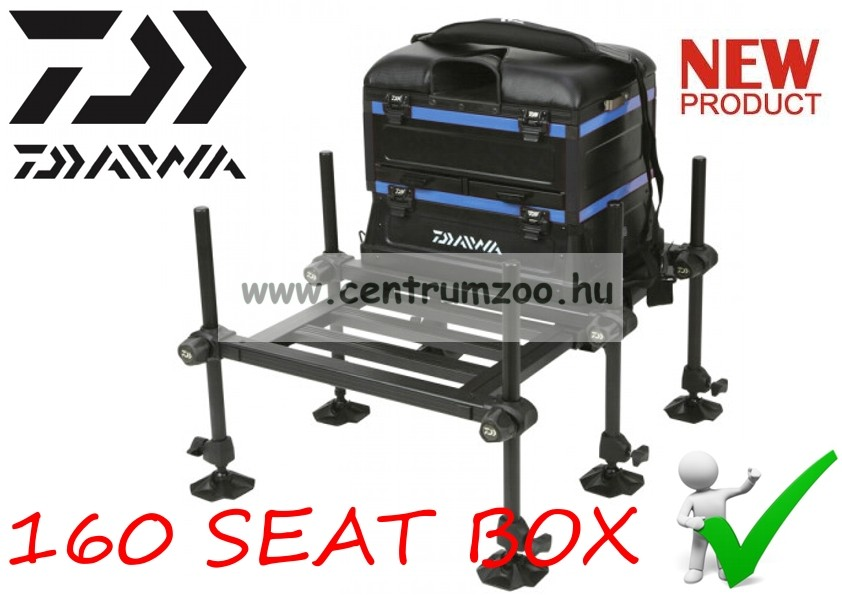 Daiwa Team 160 Blue Seat Box 2017NEW prémium láda (202756)