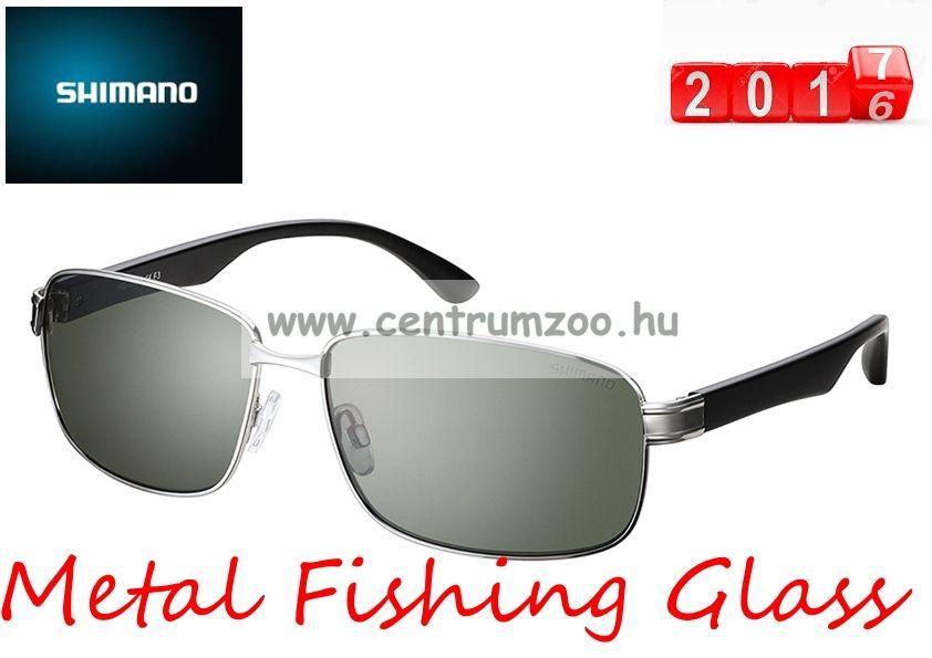 Shimano napszemüveg Metal Fishing Glass TD (HG-093NSSL) Smoke Lens