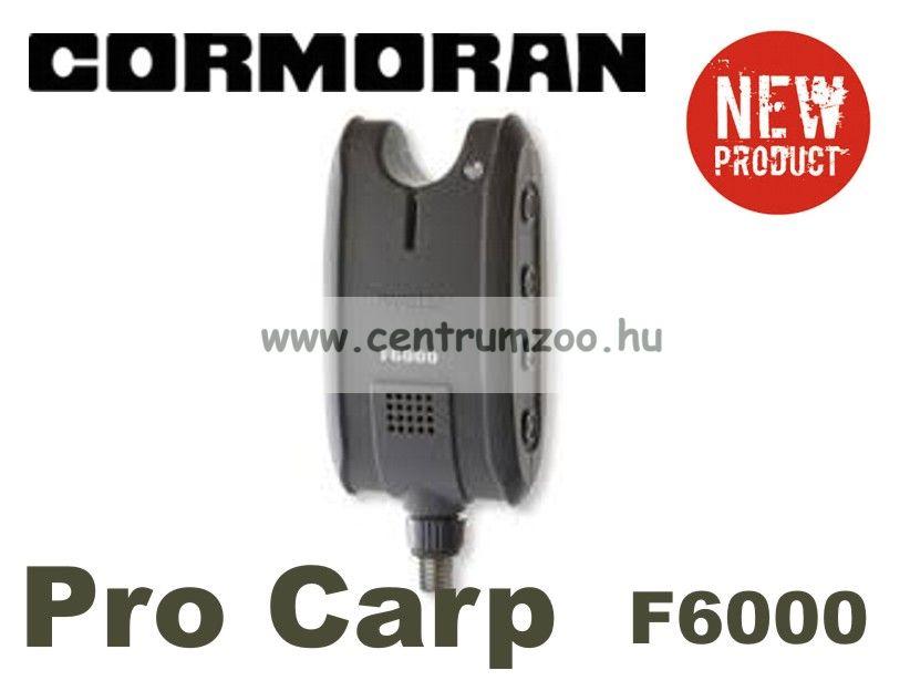 CORMORAN PRO CARP F-6000 kiegészítő rádiós kapásjelző (11-80600)