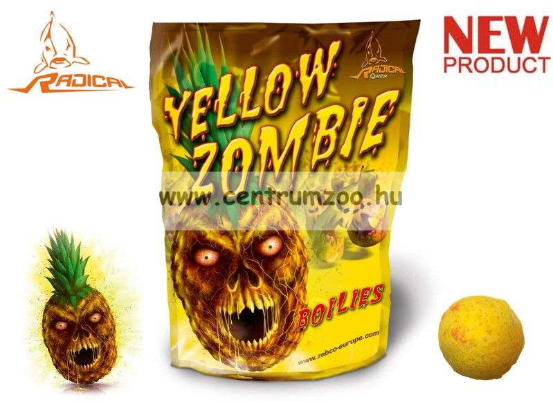 Radical Carp - Yellow Zombie bojli 24mm 0,8kg (3956009)