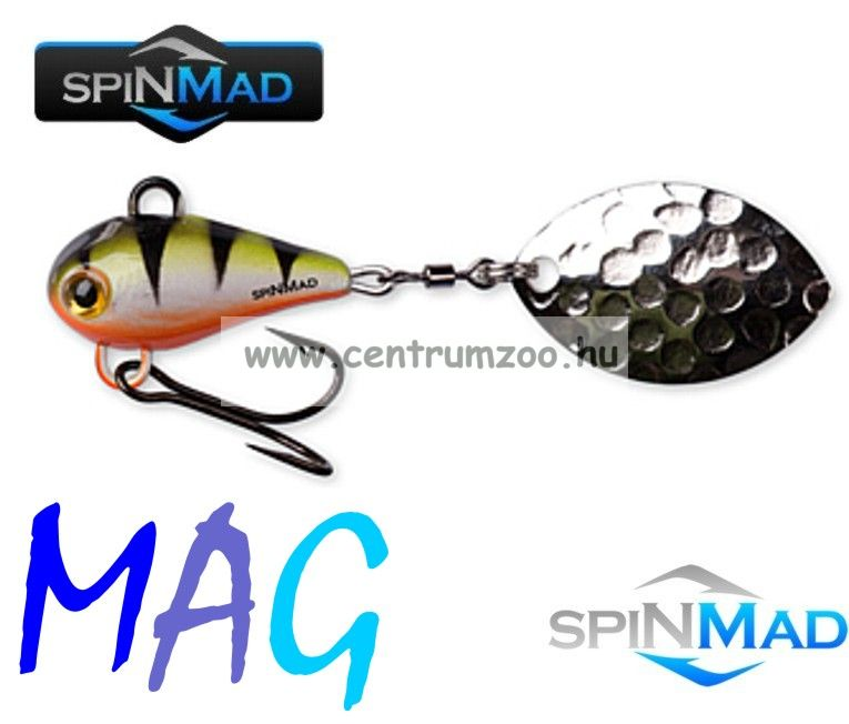 SpinMad Tail Spinner gyilkos wobbler MAG 6g 0708