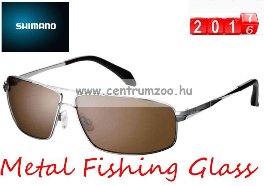 Shimano napszemüveg Metal Fishing Glass TD (HG-081NSSL) Smoke Lens