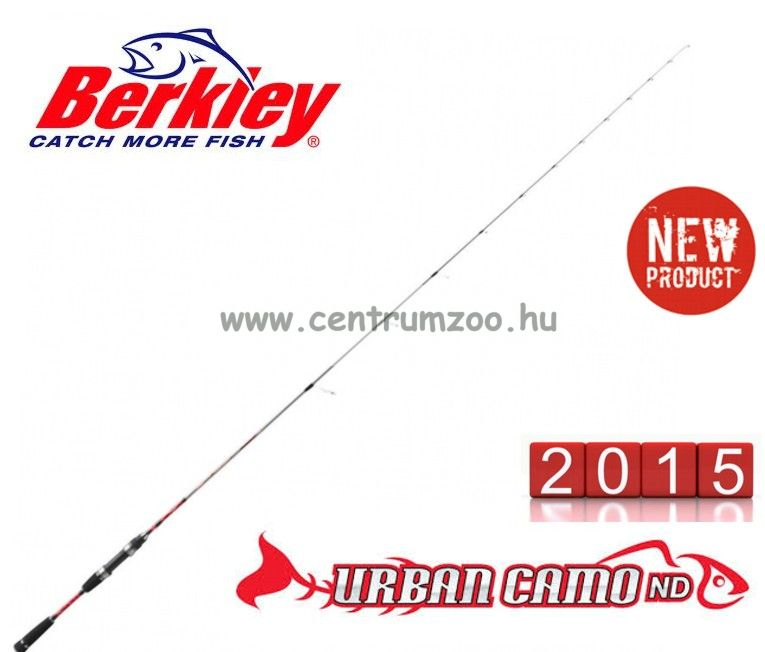 Berkley URBAN CAMO ND DROPSHOT 621 3/7 UL  pergető, DROPSHOT bot (1360953)