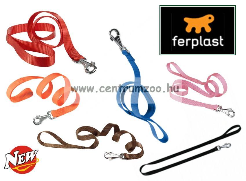 Ferplast Club G 15mm erős textil póráz több színben