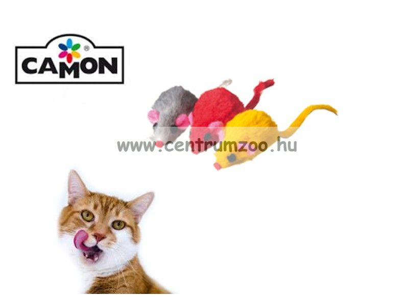 Camon Topini min color játék egér 4cm (AG008/E)