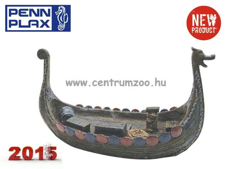 Penn Plax Dekoráció Viking hajó 23,5cm (068157)