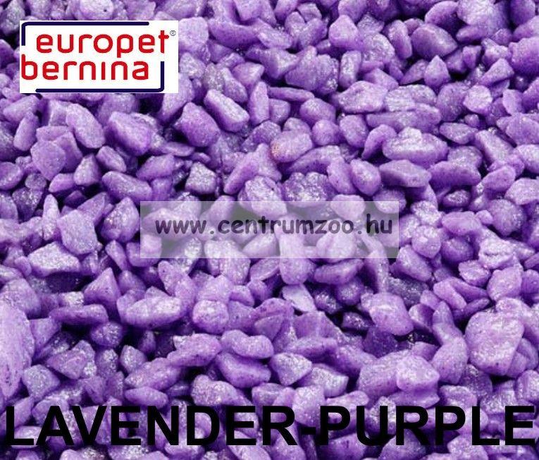 EUROPET BERNINA Aqua D'ella Glamour Stone 6/9mm 2kg LAVENDER-PURPLE akváriumi kavics aljzat (257-420560)