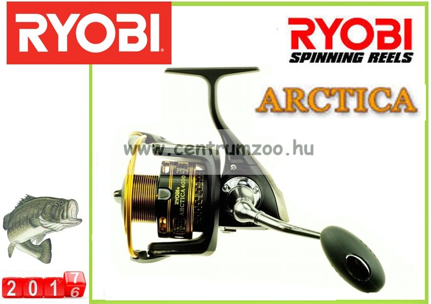 Ryobi Arctica 4000 NEW alfa-prémium elsőfékes orsó (PF-ARC4000)