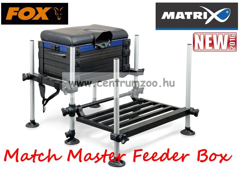 Fox Matrix® Match Master Feeder Box seatbox versenyláda  (GMB065)