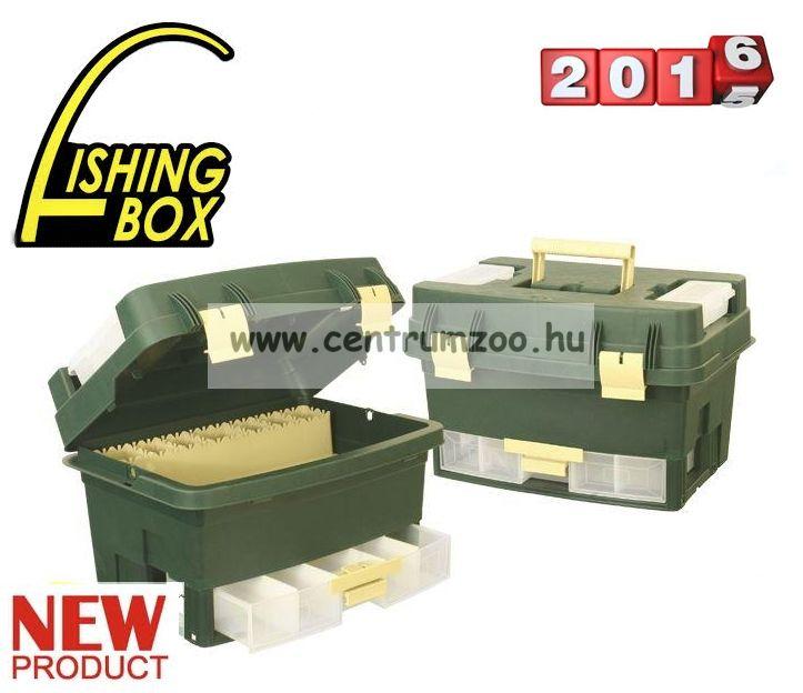 FISHING BOX CADDY TIP.462  szerelékes horgászláda 46x31x30cm (75083-462)
